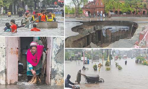 Eight killed as downpour wreaks havoc on Lahore