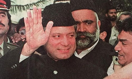 In pictures: The rise and fall of Nawaz Sharif