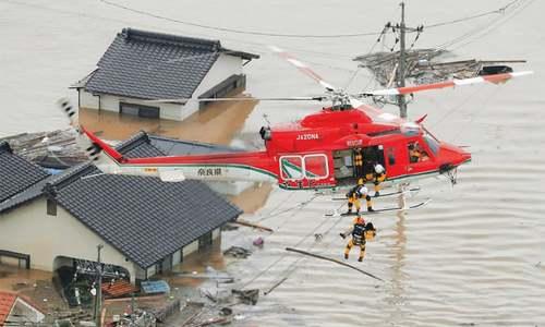 30 dead as heavy rains play havoc in Japan