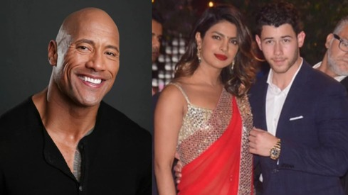 Dwayne Johnson takes credit for Priyanka Chopra and Nick Jonas' new love