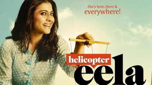 Kajol is playing a helicopter mom in her next film