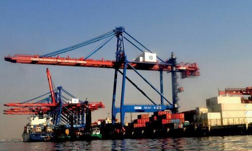 Karachi port being strangulated by land mafia, says minister
