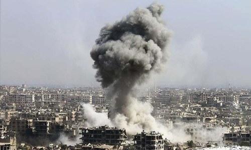 54 dead in anti-IS strike in eastern Syria