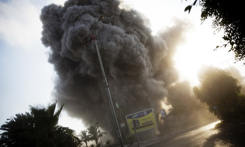 Israeli airstrike kills 2 Palestinians in Gaza