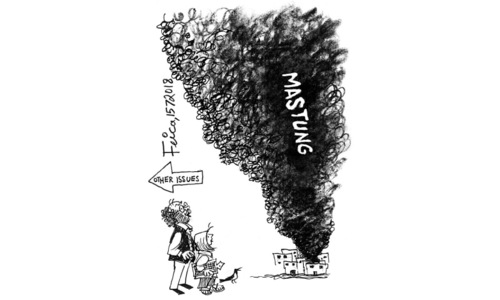 Cartoon: 15 July, 2018