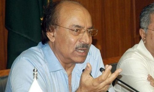 Fresh wave of terrorism may be aimed at getting polls postponed, says Khuhro