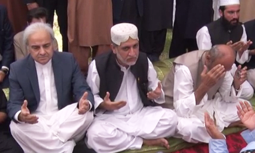 PM, Balochistan CM visit Raisani's family; offer condolences for Mastung attack victims