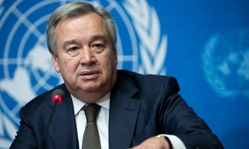 اقوام متحدہ کے سیکریٹری جنرل کی کشمیر رپورٹ پر حمایت، پاکستان کا خیرمقدم