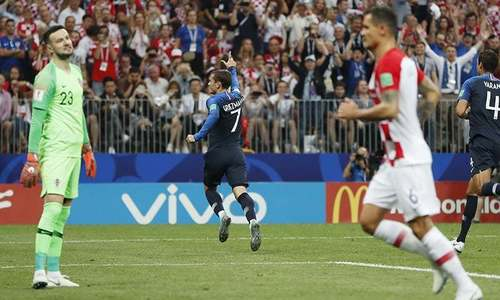 World Cup Finale: Griezmann gives France 2-1 lead on video review penalty