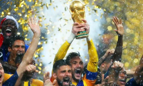 فرانس فٹبال کا نیا شہنشاہ