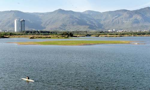 Rains may adversely affect Rawal Lake's storage capacity