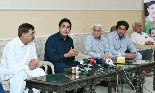 Bilawal rejects 'ban' on PPP campaign in KP