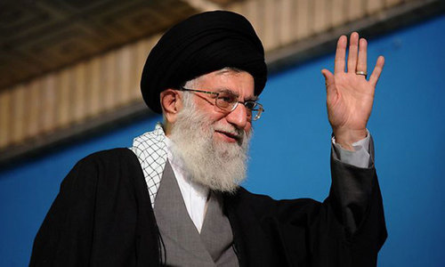 Khamenei urges institutions to help Rouhani fight problems