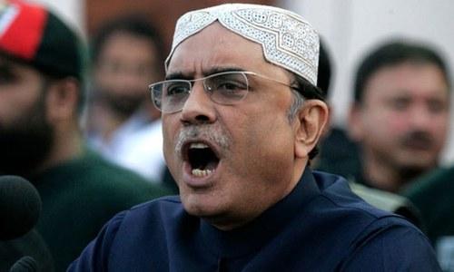 جلسے جلوس کرنا ہر شہری کا جمہوری حق ہے، آصف علی زرداری