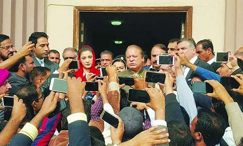 Nawaz, Maryam and Safdar file appeals against Avenfield verdict