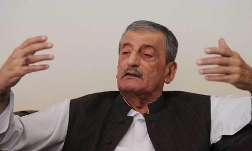 'میں نے کبھی نہیں کہا کہ بشیر بلور کے قتل میں اپنے ہی لوگ ملوث ہیں'