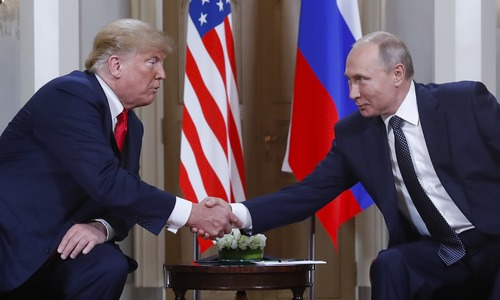 Trump-Putin summit opens in Helsinki without talk of election meddling