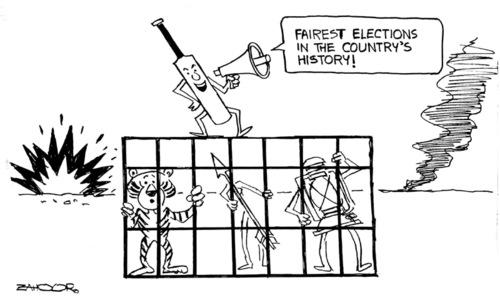 Cartoon: 17 July, 2018