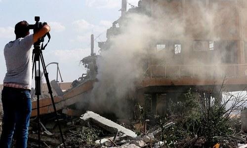 شام: اسرائیلی جنگی طیاروں کے حملے میں 9 'ایرانی جنگجو' ہلاک