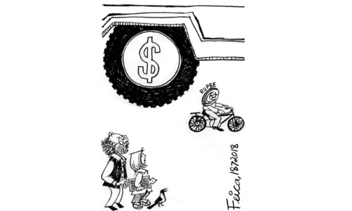 Cartoon: 18 July, 2018
