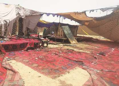 In Mastung, room in graveyards is fast running out