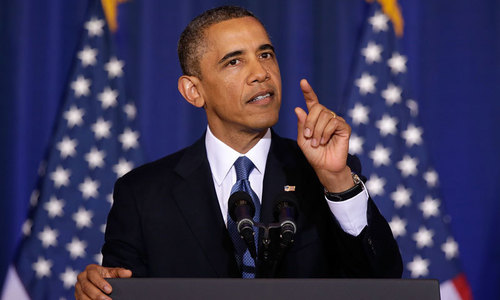 Obama makes veiled attack on Trump in speech to remember Mandela