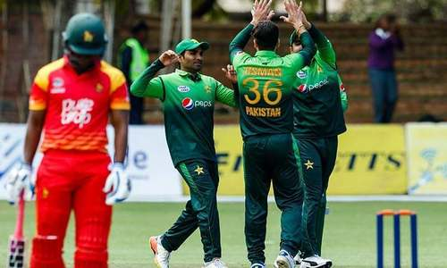 Pakistan beat Zimbabwe by nine wickets in third ODI, clinch series