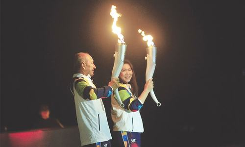Asian Games torch goes on month-long relay through Indonesia