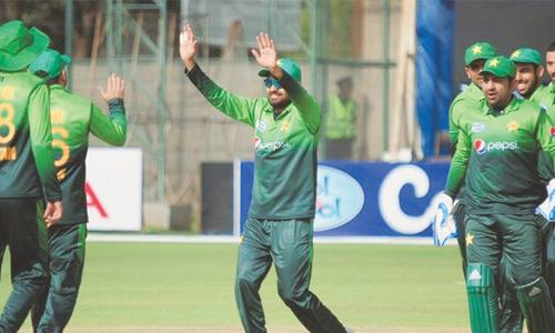 Faheem's five-for helps Pakistan take Zimbabwe series