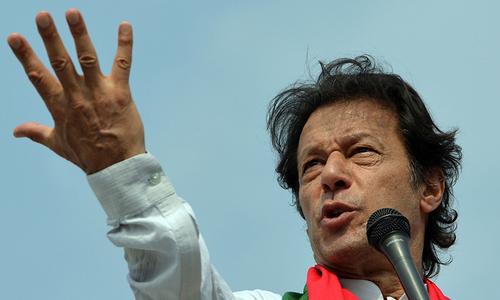 عمران خان کو جلسوں میں غیر اخلاقی زبان استعمال کرنے سے روک دیا