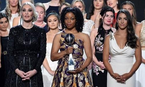 'ریپ' کی شکار 144 خواتین کیلئے ایوارڈ