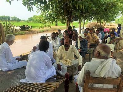 A 'pir' party makes waves in Punjab