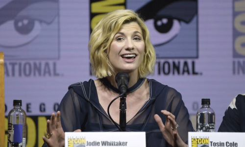 First female 'Doctor Who' makes public appearance and Comic-Con fans go wild