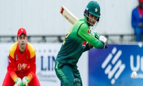فخر زمان کی ڈبل سنچری: پاکستان نے زمبابوے کو 244 رنزسے شکست دے دی