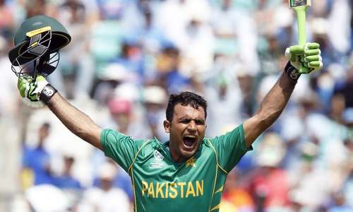 Records tumble for Pakistan as Fakhar's double ton bolsters highest-ever total of 399