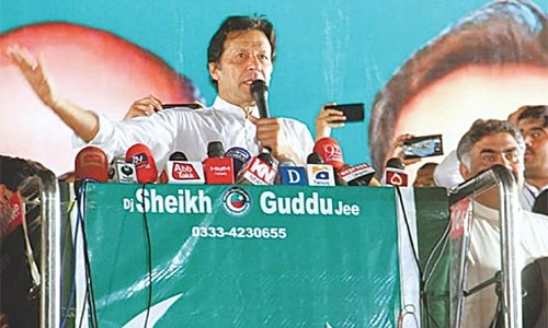 Imran says he'll build Bhasha dam if voted to power