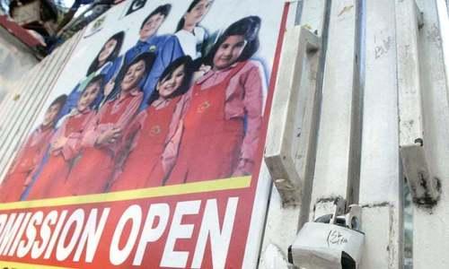 اسلام آباد: رہائشی علاقوں میں قائم نجی اسکولوں کو 'سیل' کردیا گیا