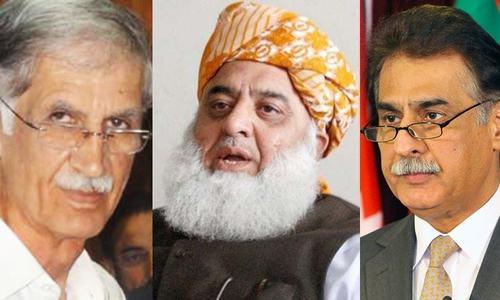 نازیبا زبان کا استعمال: ایاز صادق، فضل الرحمٰن، پرویز خٹک کو بیان حلفی جمع کرانے کی ہدایت
