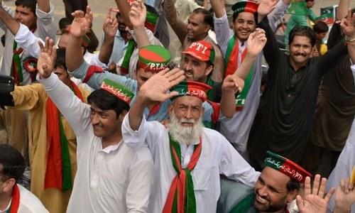 ڈیرہ اسمٰعیل خان: تحریک انصاف کے انتخابی امیدوار کے قافلے کے قریب دھماکا