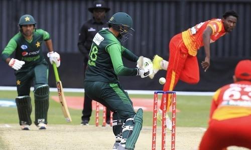 پاکستان اور زمبابوے کے درمیان آخری میچ جاری، فخر زمان کے نام ایک اور ریکاڈ