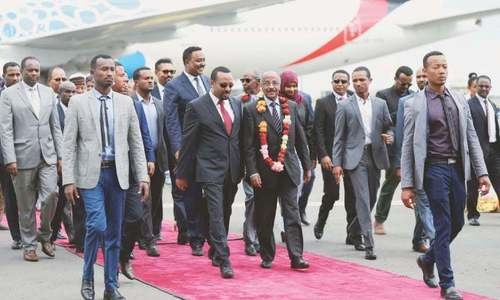 Ethiopia hopes Eritrea peace will bring prosperity