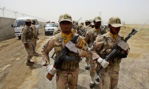 10 Iran Revolutionary Guards killed in border clash
