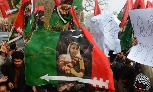پیپلز پارٹی کا سندھ کی نگراں حکومت پر معتصبانہ رویے کا الزام