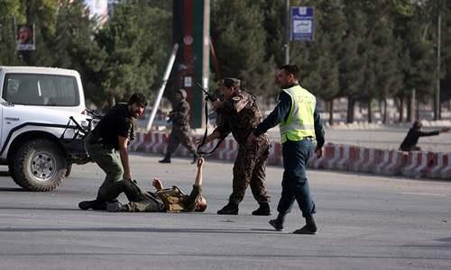 افغانستان: کابل ائرپورٹ پر دھماکے سے 11 افراد جاں بحق، 14 زخمی