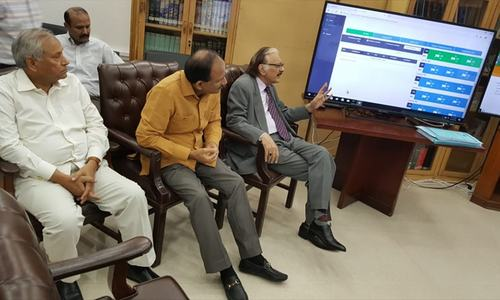 Chief Election Commissioner satisfied with election arrangements after visit to ECP control room
