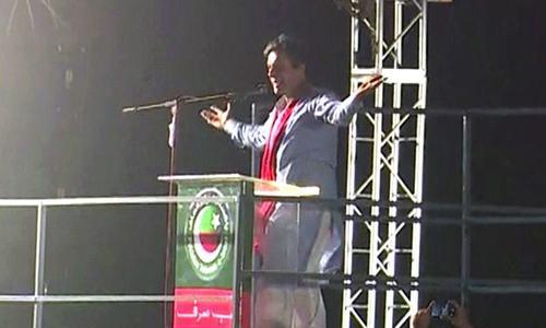 عالمی سازش کے تحت انتخابات کو متنازع بنایا جارہا ہے، عمران خان