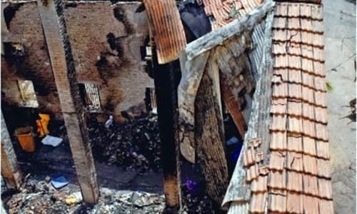 Undamaged property in Karachi malkhana fire dumped in trash