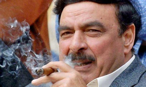 Sheikh Rashid's plea against postponement of NA-60 poll rejected by high court