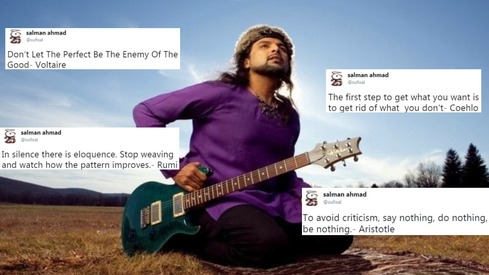 10 of Salman Ahmad's strangest election tweets