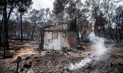 Wildfires in Greece kill 74 in deadliest blazes in decades